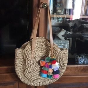 Summer Woven Shoulder Bag